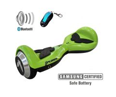 "BALANS SKUTER HOVERBOARD XP JUNIOR 4,5"" GREEN"