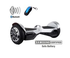 "BALANS SKUTER HOVERBOARD XP HUMMER 8"" SILVER"
