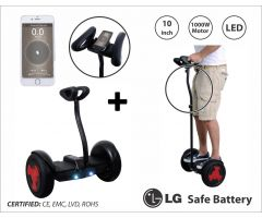 "Balans skuter -mini segway RING DRIVE-9 10"" BLACK-LG"