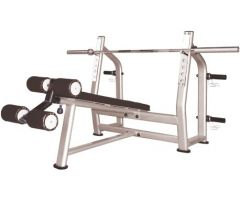 Decline bench luxury - luksuzan kontra kosi bench pres - RP-24