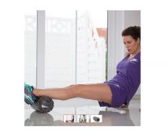 Penasti valjak za pilates Kettroll  Med Black-Grey FIT-K07372-800