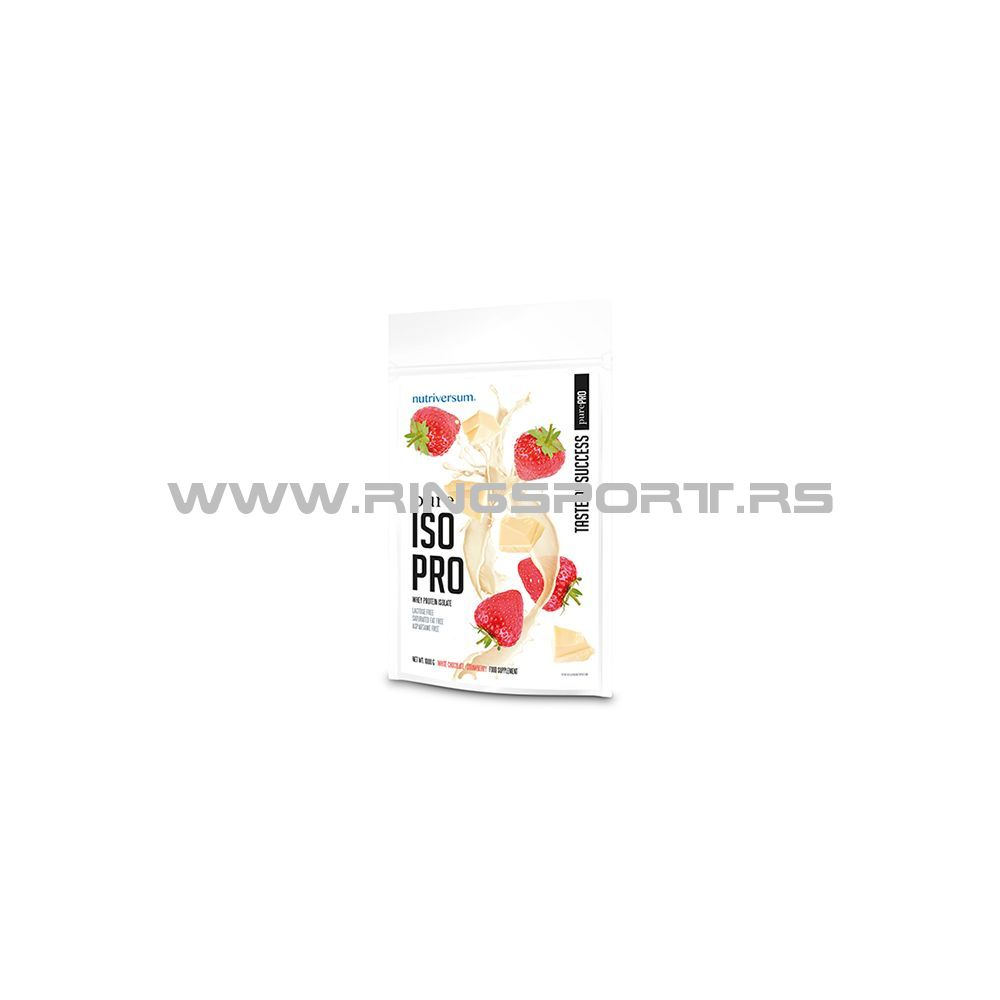 Pure iso pro white chocolate-strawberry protein