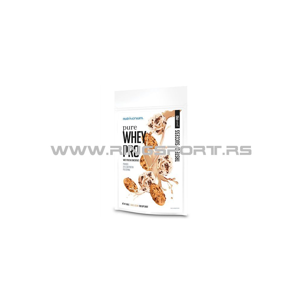 Pure whey pro cookies cream protein
