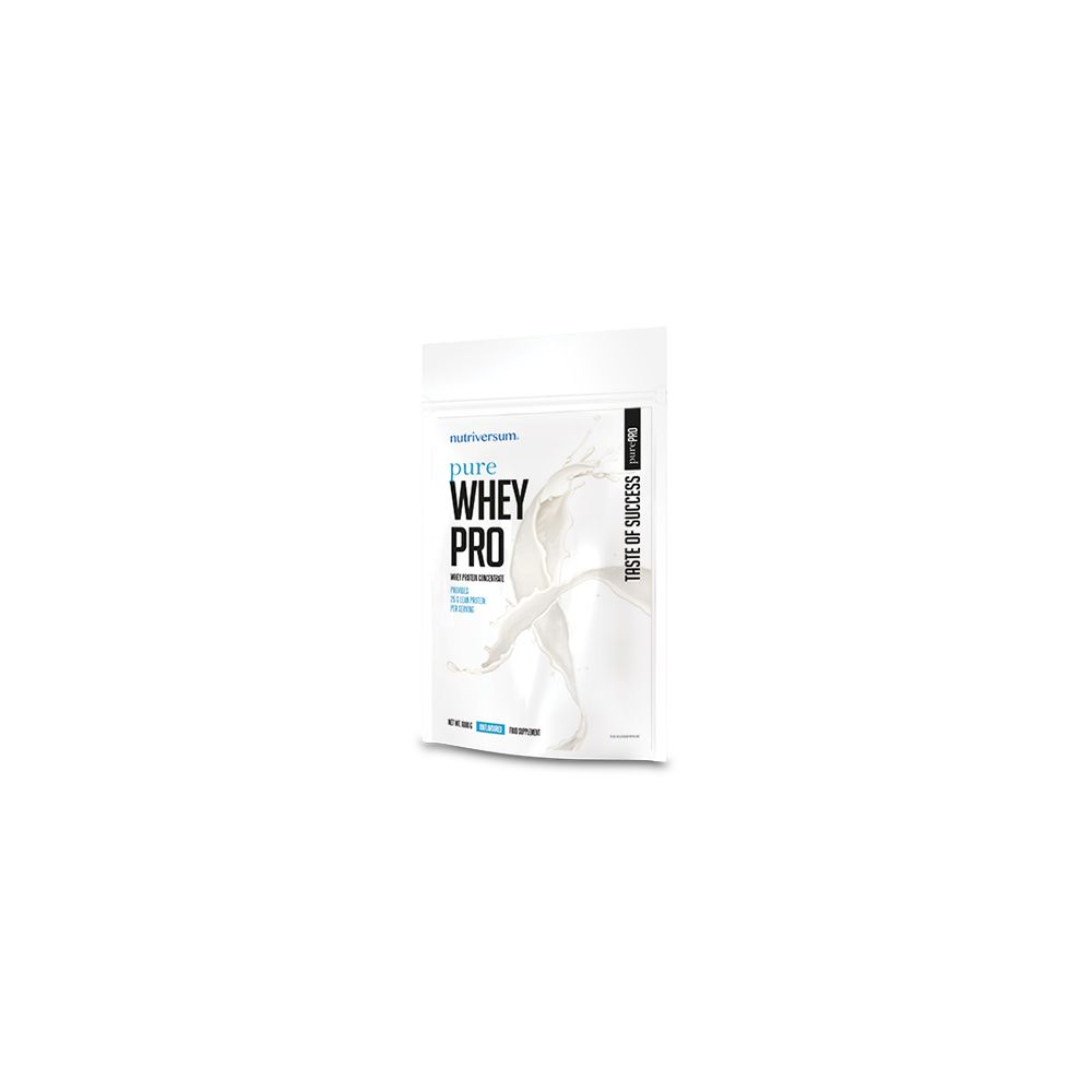 Pure whey pro unflavoured protein