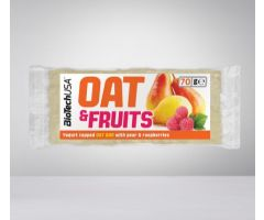 Oat & Fruits Bar 70g Kruška Malina Jogurt BioTechUsa