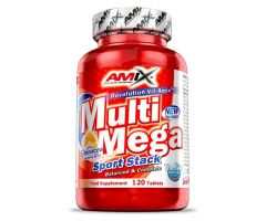 Multi Mega Stack 120 tablets Amix