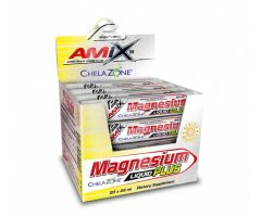 Magnesium liquid Plus 20x25ml - lemon Amix