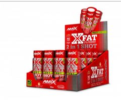 X-Fat 2in1SHOT 20x60ml BOX Fruity Amix
