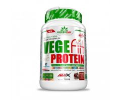 GreenDay Vege-Fit Protein double chocolate 720g Amix