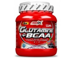 L-Glutamine + BCAA 530g forest fruit Amix