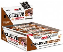 Exclusive Protein Bar 12x85g Double dutch chocolate Amix