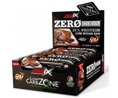 Low-Carb ZeroHero Protein Bar 15x65g Double Chocolate Amix