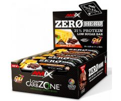 Low-Carb ZeroHero Protein Bar 15x65g Orange Blast Amix